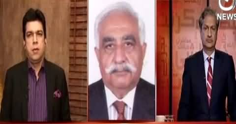 Bottom Line With Absar Alam (Rangers Raid, Effects on Karachi) – 12th March 2015