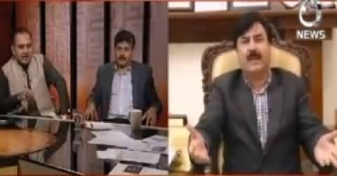 Bottom Line With Absar Alam (Senate Elections Mein Joor Toor) – 26th February 2015