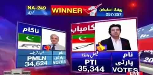 Breaking News : Shahbaz Sharif loses against Faisla Wada PTI