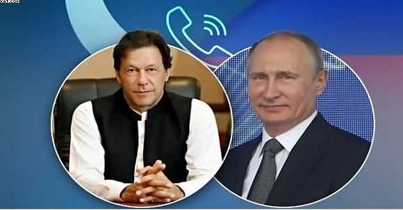 Breaking News: Telephonic Contact B/W PM Imran Khan And Russian President Viladimir Putin