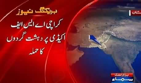 Breaking News: Terrorists Once Again Attack ASF Camp Karachi