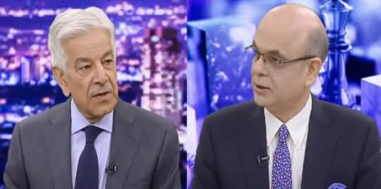 Breaking Point with Malick (Exclusive Talk With Khawaja Asif) - 13th July 2021