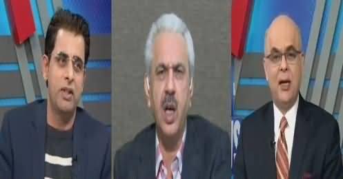 Breaking Views with Malick (Nawaz Sharfi's Attacks on Judiciary) – 27th January 2018