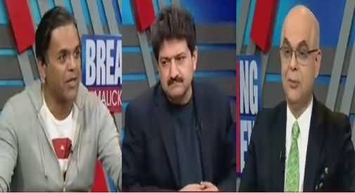 Breaking Views with Malick (Nawaz Sharif Vs Judiciary) – 17th February 2018