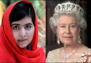 Britain Queen Elizabeth invited Malala Yousafzai to Buckingham Palace