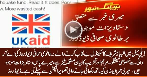 British Journalist David Rose Exclusive Talk to ARY News About Shehbaz Sharif's Scandal