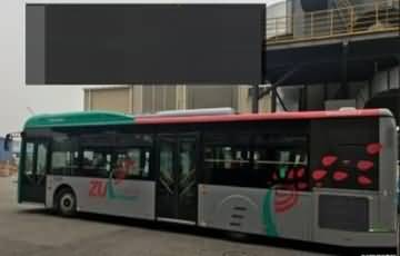 Buses Getting Ready for Peshawar BRT… First Look