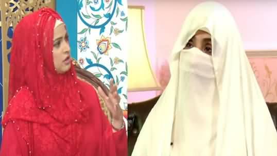 Bushra Bibi Changed My Life - Actress Noor Expressing Her Views About Imran Khan's Wife