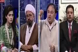 Capital Live With Aniqa (Nawaz Sharif Per Jota Attack) – 11th March 2018