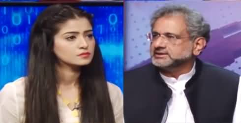 Capital Live with Aniqa Nisar (Shahid Khaqan Abbasi Interview) - 22nd October 2020