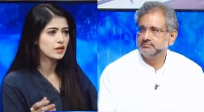 Capital Live with Aniqa (Shahid Khaqan Abbasi Exclusive Interview) - 4th August 2020