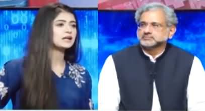 Capital Live with Aniqa (Shahid Khaqan Abbasi Interview) - 22nd September 2020