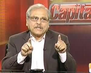 Capital Talk - 11th July 2013 (Drone Hamle Ruk Jayen To Dhamake Bhi Band Ho Jain Ge..?)