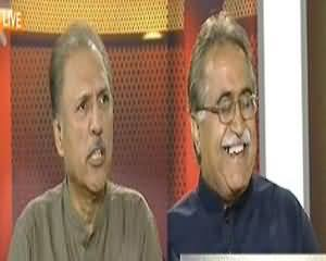 Capital Talk - 20th August 2013 (Nawaz Sharif Ka Pehla Khitab, Expectations Pori Huein?)