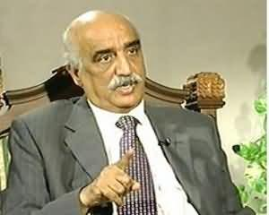 Capital Talk - 20th June 2013 (Special Interview With Syed Khursheed Shah)