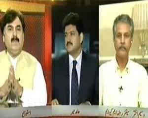 Capital Talk – 23rd July 2013 (PTI Aur MQM Ki Syasi Jung Ka Qanooni Rung...!!)