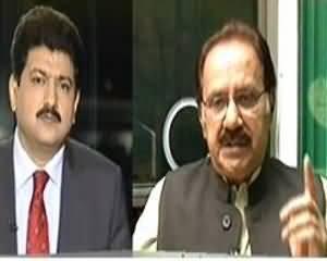 Capital Talk - 26th June 2013 (Kya Sindh Hukumat Talibaan Se Muzakrat ki Himayat Karegi ?)