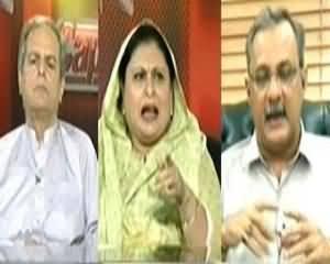Capital Talk - 28th June 2013 (Pervez Musharraf Ka Trail,Kya Sab Parties Ek Saath Hain?)