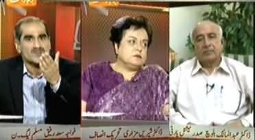 Capital Talk - 4th June 2013 (Kya Dr.Abdul Maalik Baloch Balochistan Ko Aman De Sake)