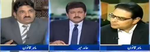 Capital Talk (Adlia Fauj Ke Gath Joor Ka Bayania Ghalt Sabit Ho Gaya) - 27th November 2017