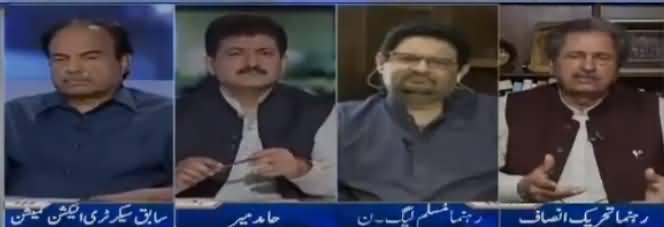 Capital Talk (Allegation on Imran Khan Regarding His Daughter) - 11th June 2018