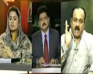 Capital Talk (Aman Ke Rakhwale Karachi Ke Citizens Ko Kyun Lootne Laga) - 29th August 2013