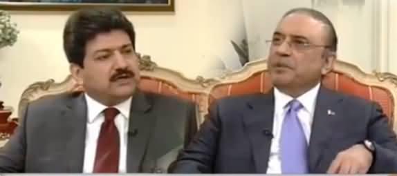 Capital Talk (Asif Zardari Exclusive Interview) - 21st November 2016
