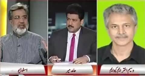 Capital Talk (BBC Report: Ban on MQM or Leadership Change?) – 25th June 2015