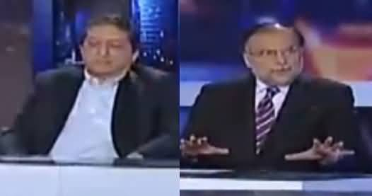Capital Talk (Chaudhry Nisar's Press Conference) - 27th July 2017