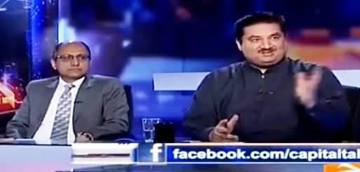 Capital Talk (CM Sindh Ki Tabdeeli) - 25th July 2016