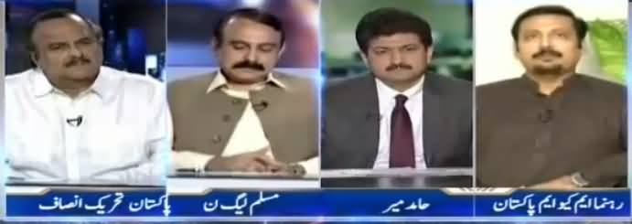 Capital Talk (Contacts Between MQM Pakistan & MQM Haqiqi) - 11th May 2017