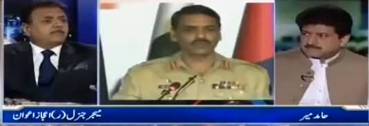 Capital Talk (DG ISPR Press Conference) - 4th June 2018