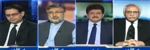 Capital Talk (Difference Between Daniyal Aziz & Yousaf Gilani's Disqualification) - 28th June 2018