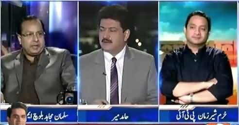 Capital Talk (Does PTI Want MQM's Resignations?) – 12th August 2015