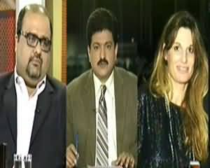 Capital Talk (Jemima Khan Talks with Hamid Mir About Drone Issue?) - 29th October 2013