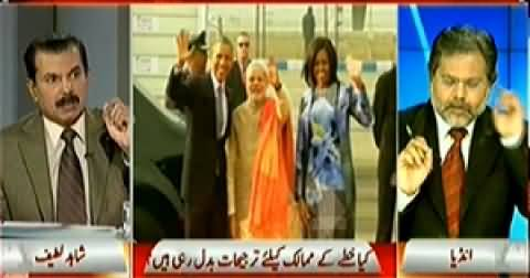 Capital Talk (Effects of New US-India Relations) - 27th January 2015