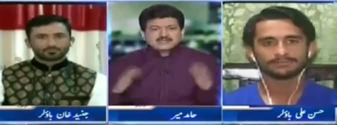 Capital Talk (Eid With Players of Pakistan Cricket Team) - 27th June 2017