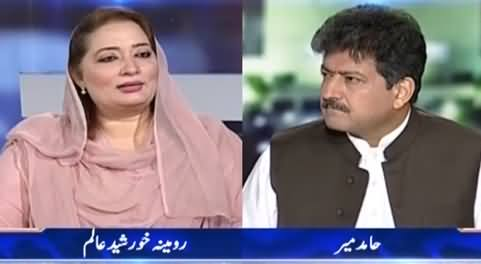Capital Talk (Exclusive Interview with Female MNA How Embraced Islam) - 12th May 2021