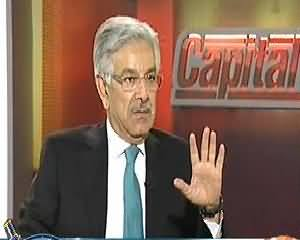 Capital Talk (Exclusive Interview With Khawaja Muhammad Asif) - 9th October 2013