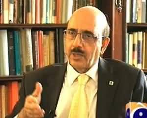 Capital Talk (Exclusive Interview With Masood Khan) - 30th September 2013
