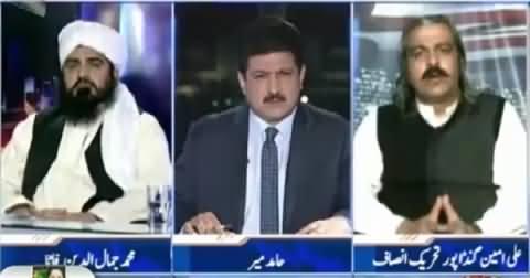 Capital Talk (FATA Ke Qabail Ki Pakistan Ke Liye Qurbaniyan) – 10th November 2015