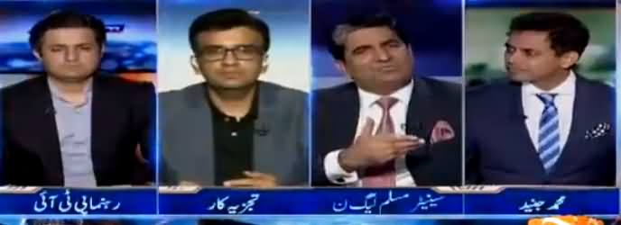 Capital Talk (Fayaz ul Hassan Chohan's Attitude) - 30th August 2018