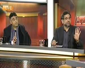 Capital Talk (Gas Crises, Hakumat Ki Na Ehli Ka Natija) - 13th January 2014