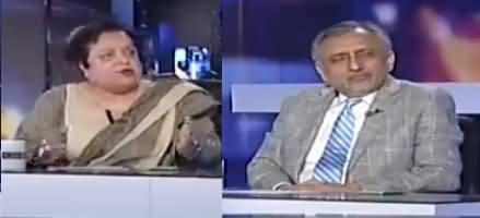 Capital Talk (Hakumat Aur Fauj Mein Ghalt Fehmiyan) - 1st May 2017