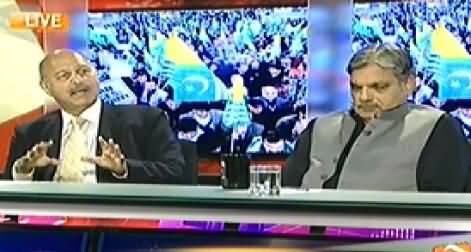 Capital Talk (How BJP will Defend Indian Article 370 About Kashmir) - 27th October 2014