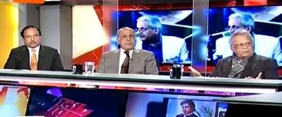 Capital Talk (How Nawaz Sharif & Zardari Agreed on Raza Rabbani) – 10th March 2015