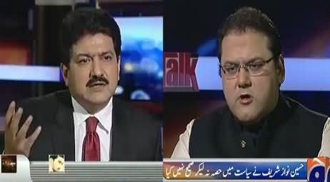 Capital Talk (Hussain Nawaz Sharif Exclusive Interview) – 19th January 2016