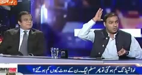 Capital Talk (If Load Shedding Decreased, Why PMLN Votes Decreased?)  – 13th October 2015