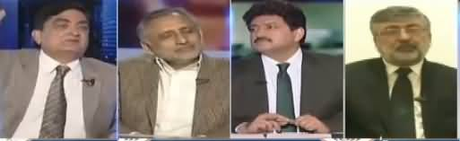 Capital Talk (Imran Khan Disqualified As Party President) - 21st February 2018