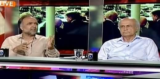 Capital Talk (Imran Khan Ki Khushian Kitne Din Rahein Gi?) – 16th April 2015